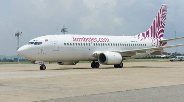 Jambojet records notable on-time performance for its flights countrywide