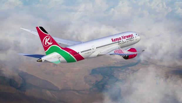 KQ Kenya Airways Dreamliner