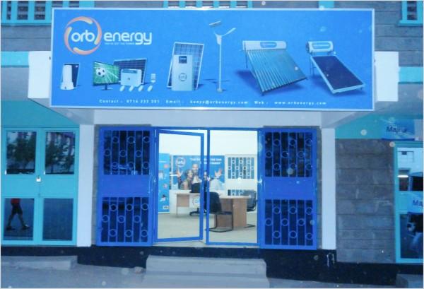 Orb Solar Energy Kisumu branch