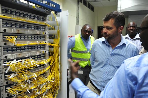 safaricom data centre in Kapsoya Eldoret