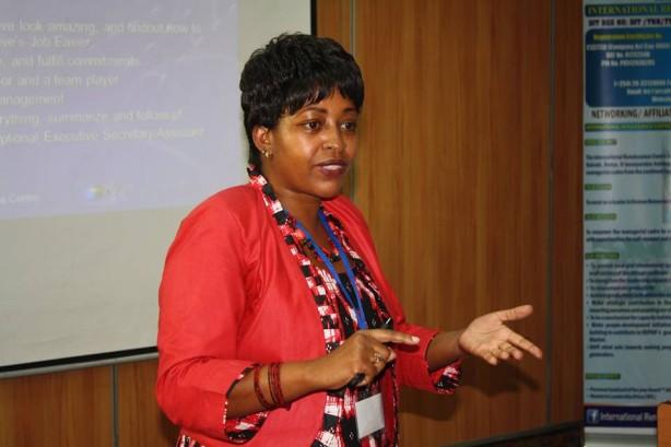 Winnie Kamuya, IRC CEO