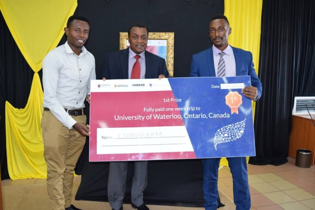 Winners Waterloo University & iLabAfrica