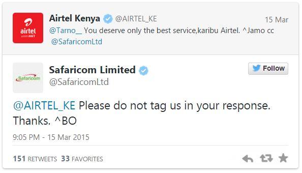 Airtel vs Safcom
