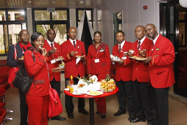 kenya-airways staff treated