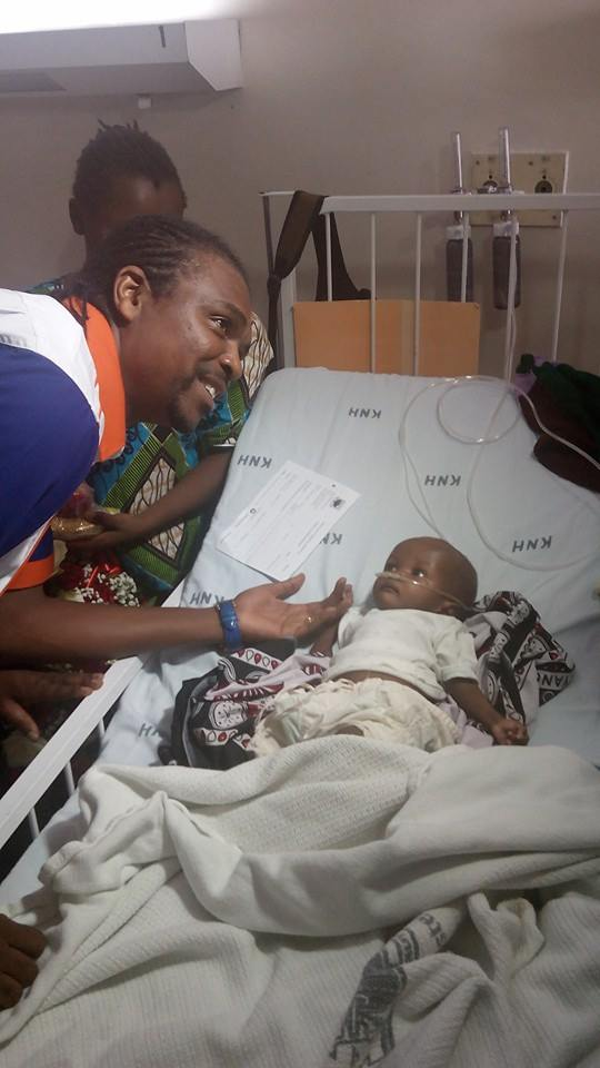 kanu with young start at KNH
