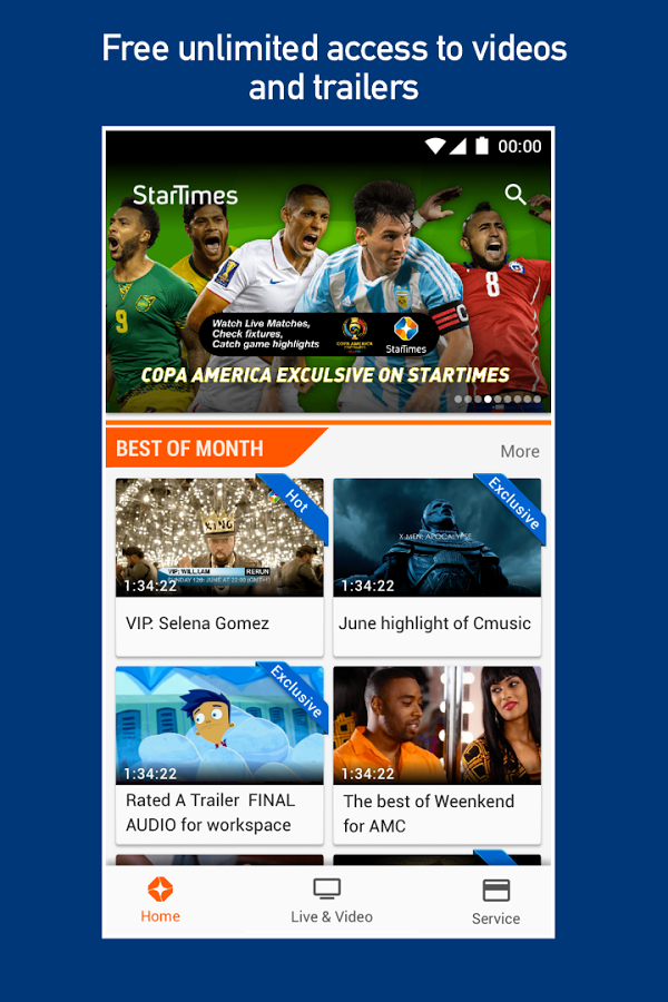 startimes free video