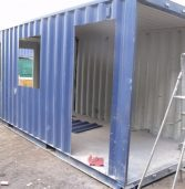 Bamburi converts shipping containers to retail shops for youth groups