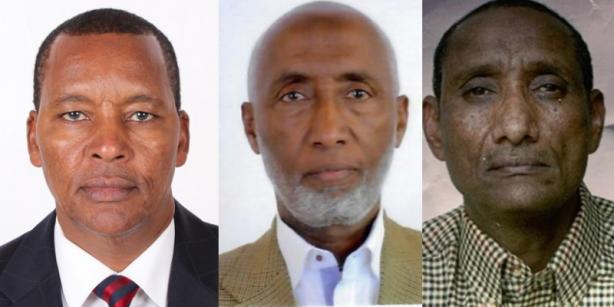 Bluebird Directors; Hussein Unshur Mohamed, Hussein Ahmed Farah and Mohamed Abdikadir Adan